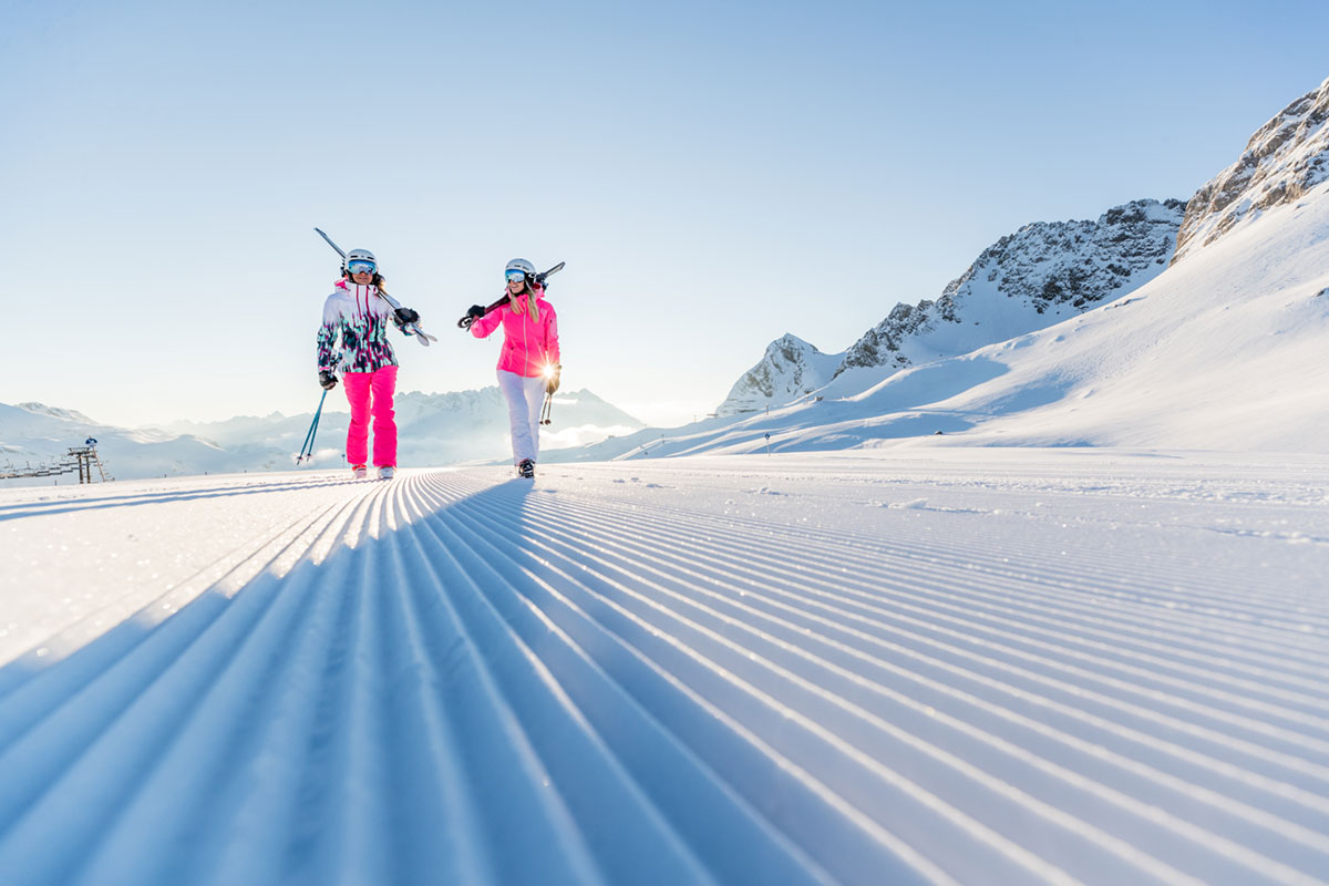 Winter in Warth © Hansi Heckmair